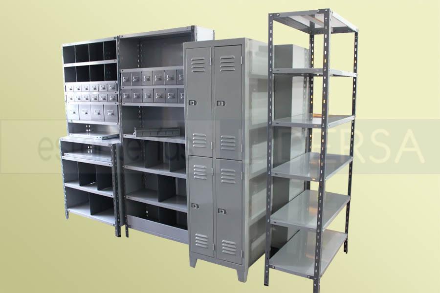 La estantería metálica es un sistema de almacenamiento modular