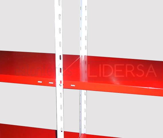 estanteria metalica almacenamiento eficiente